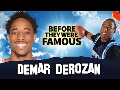 DeMAR DeROZAN - Before They Were Famous - Toronto Raptors Shooting Guard
