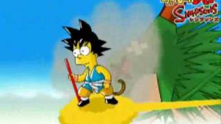 Dragonball Z evolution os simpson