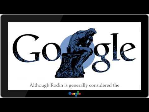 Auguste Rodin 172nd birthday ★ DoodleShow