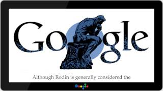 Auguste Rodin 172nd birthday ★ DoodleShow
