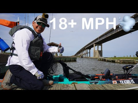 Autopilot 120 Crushes High Winds For Slot Reds & Flounder / Chocolate Bayou TX