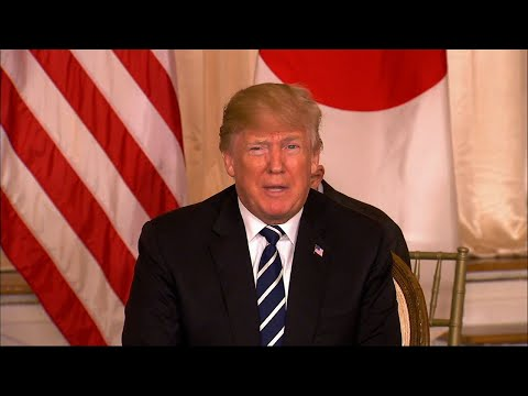 Trump: US-NKorea Speaking 'at Very High Levels'