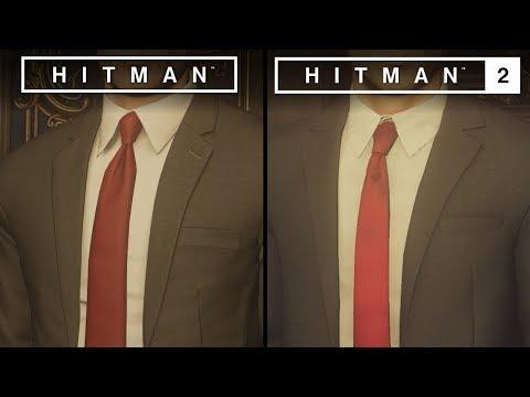 Hitman 2 vs Hitman | Direct Comparison