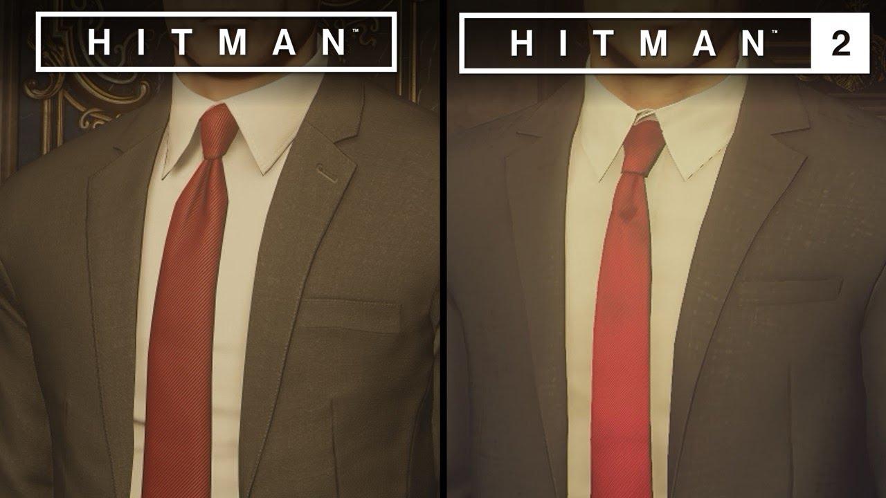 Hitman 2 Vs Hitman Direct Comparison