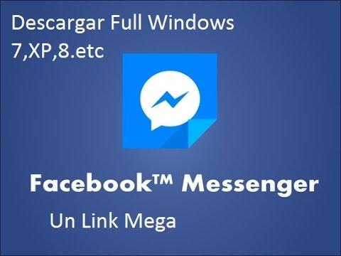descargar facebook messenger para pc windows xp