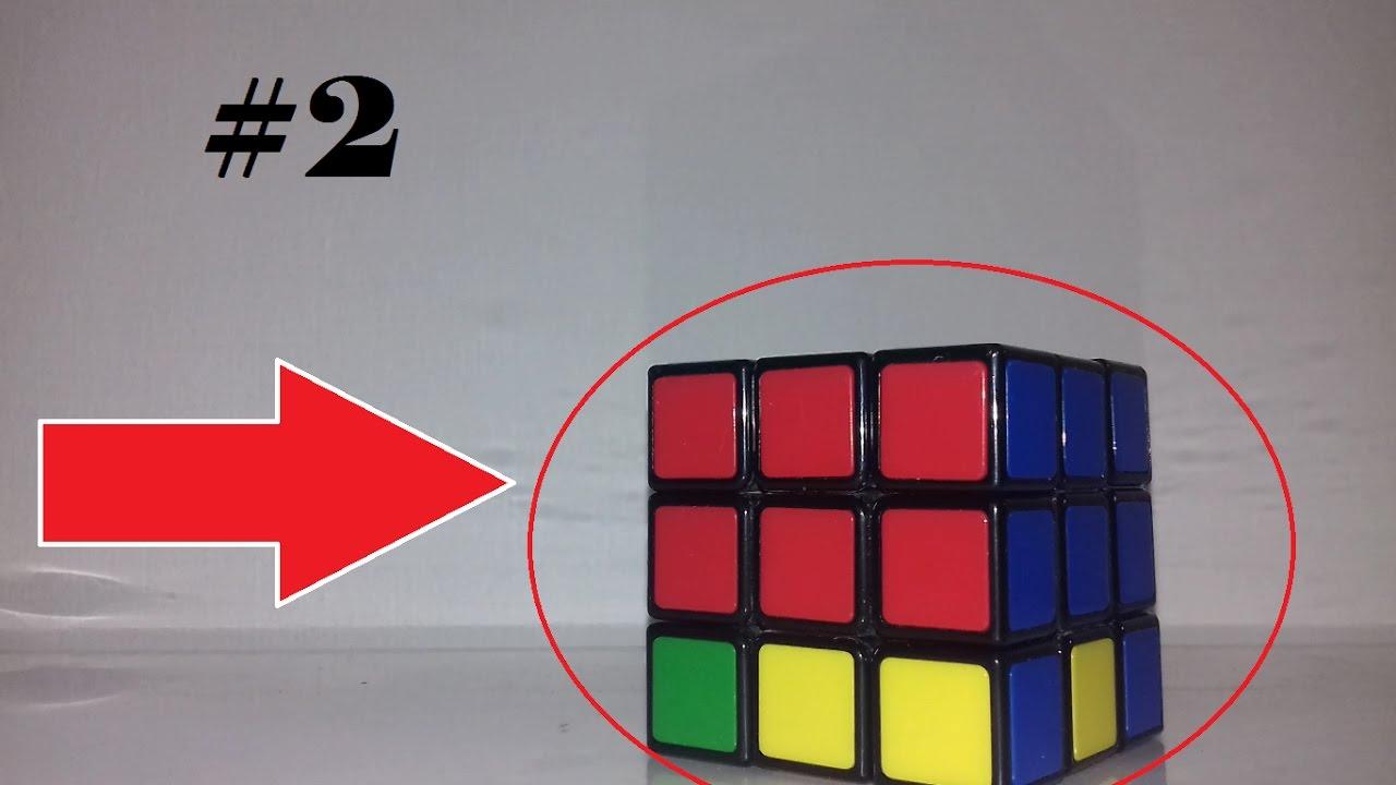 comment faire la double couronne d'un rubik's cube? méthode! #2