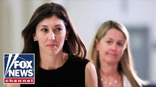 Lisa Page sues DOJ, FBI for leaking text messages