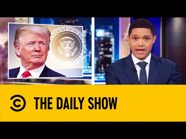 Trump Hints At Military Action Over Saudi Arabia Oil Attack | The Daily Show With Trevor Noah