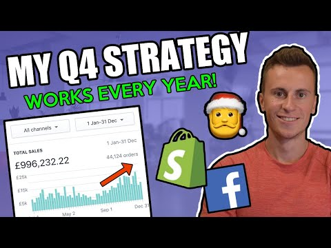 The Q4 Dropshipping Strategy I Use Every Year (2019 Edition) thumbnail