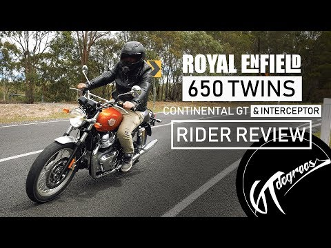 Royal Enfield Interceptor & GT 650 Twins review