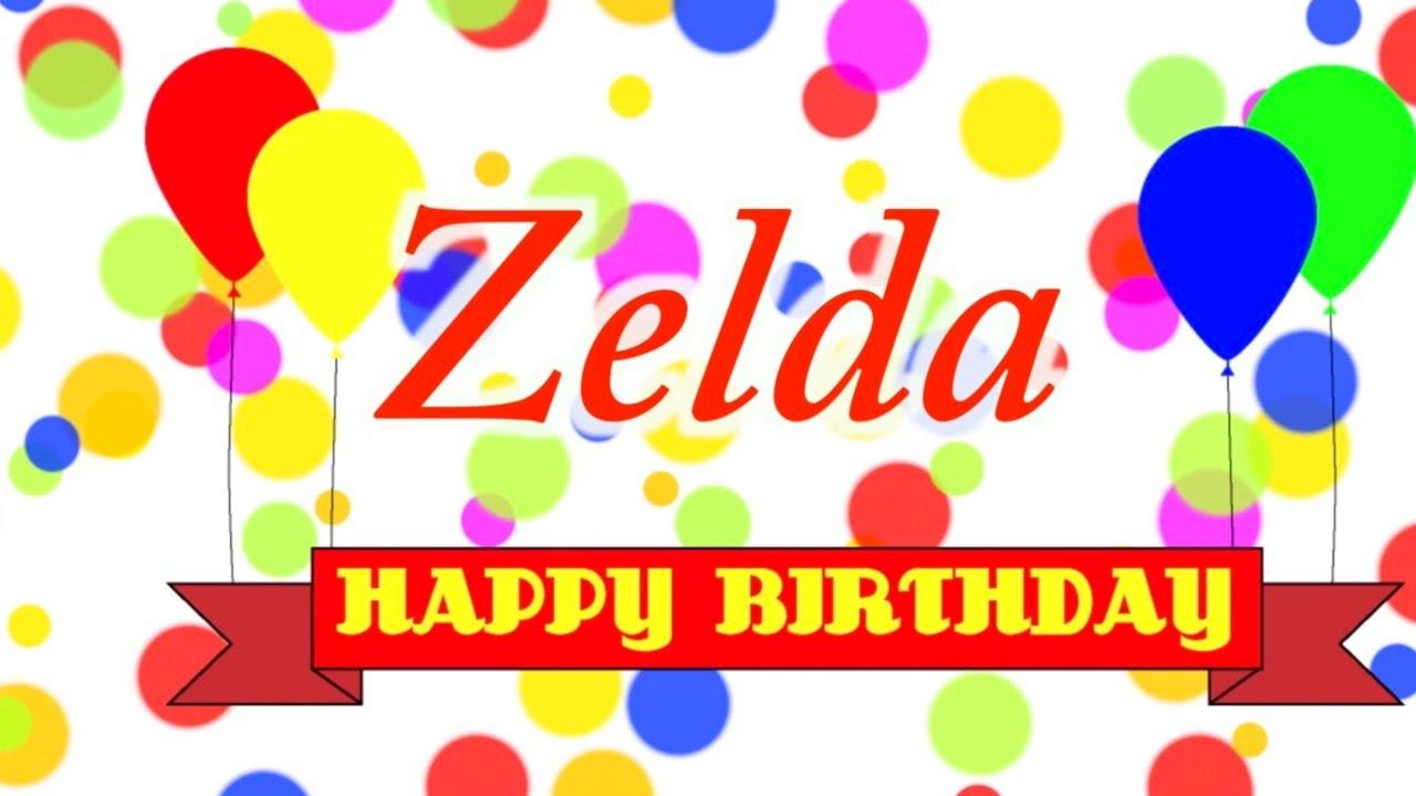 zelda happy birthday Happy Birthday Zelda Song   YouTube zelda happy birthday