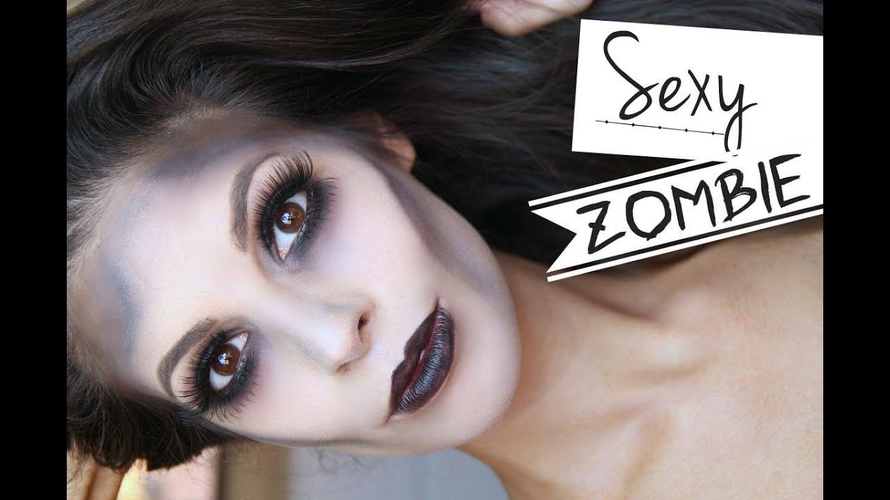 Glamorous sexy zombie makeup halloween tutorial 2014 youtube glamorous sexy zombie makeup halloween tutorial 2014 solutioingenieria Images