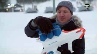 Lukt het Klaas om de Europees Kampioen sneeuwballen gooien te verslaan?