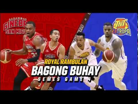 PBA Commissioner's Cup 2019 Highlights: TNT Katropa vs Ginebra August 1, 2019
