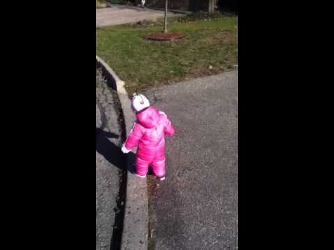 Harper snowsuit