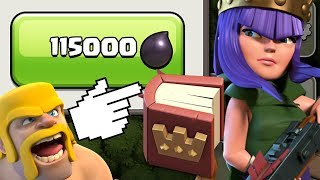 How to Use the Book of Heroes!  TH9 Dark Elixir Time | Clash of Clans