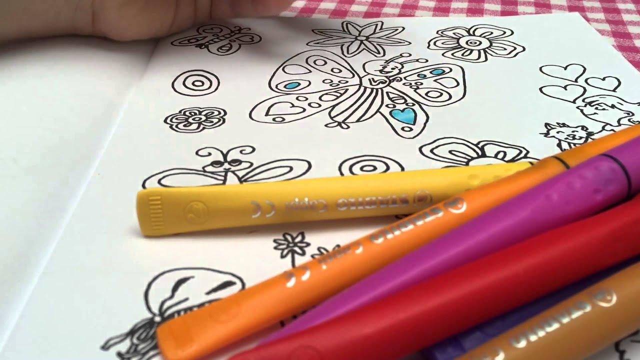 kleurplaat inkleuren coloring flowers en butterflies