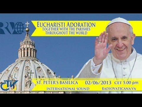 Eucharisti Adoration