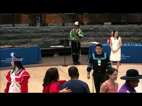Choctaw Days 2013: Choctaw Social Dancing 1