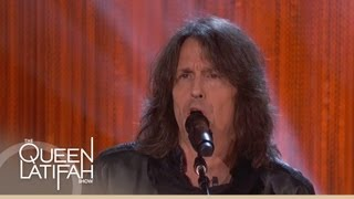 "Foreigner Performs ""Feels Like the First Time"" on The Queen Latifah Show"