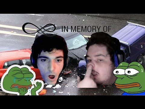 Ice Poseidon And Greekgodx Are In A  Car Accident 😢👌
