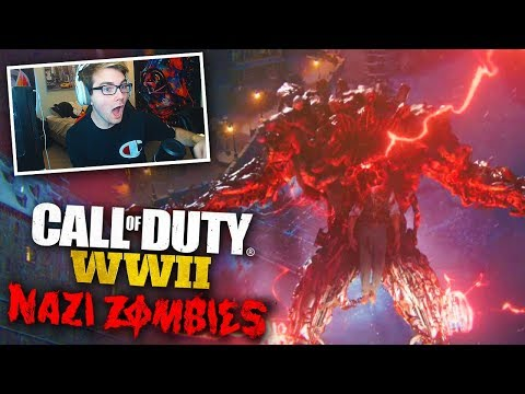 "COD WW2 ZOMBIES - THE FINAL REICH ""Panzermorder"" FULL BOSS FIGHT & ENDING (w/ Red House!)"