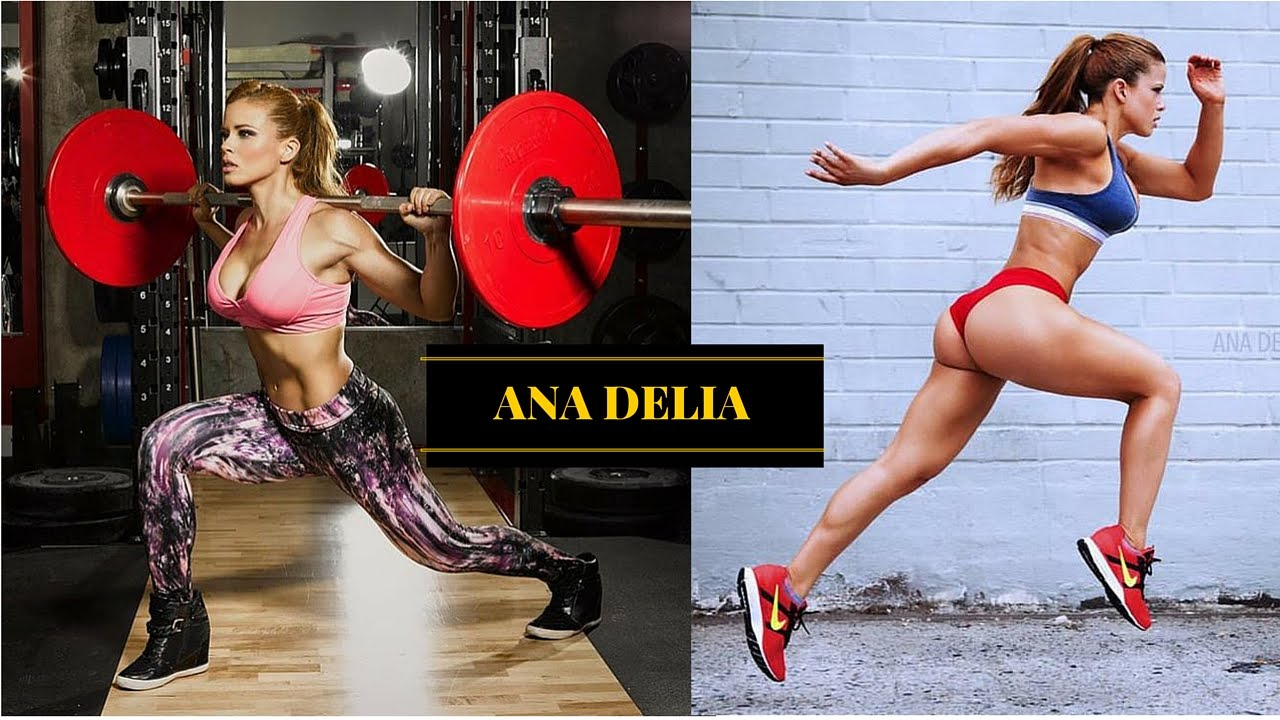 Ana Delia De Iturrondo Fitness Girls Gym Workout Routine