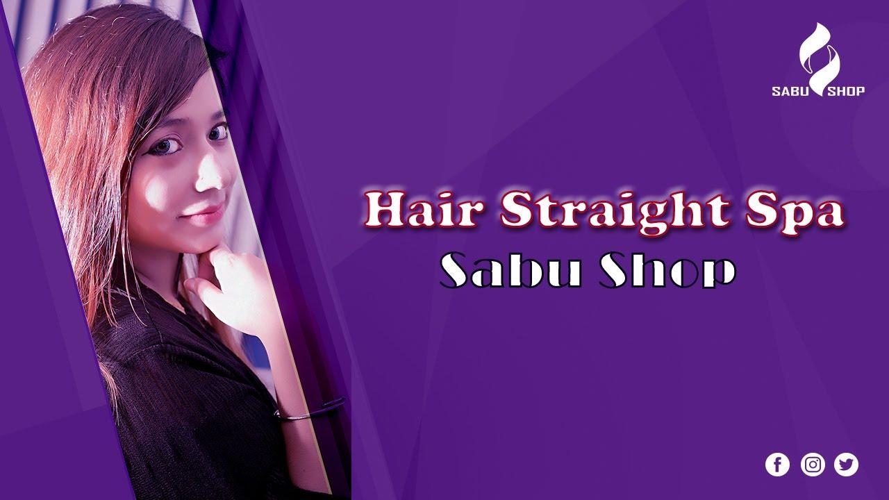 Hair Straight Spa || LIVE || Sabu Shop