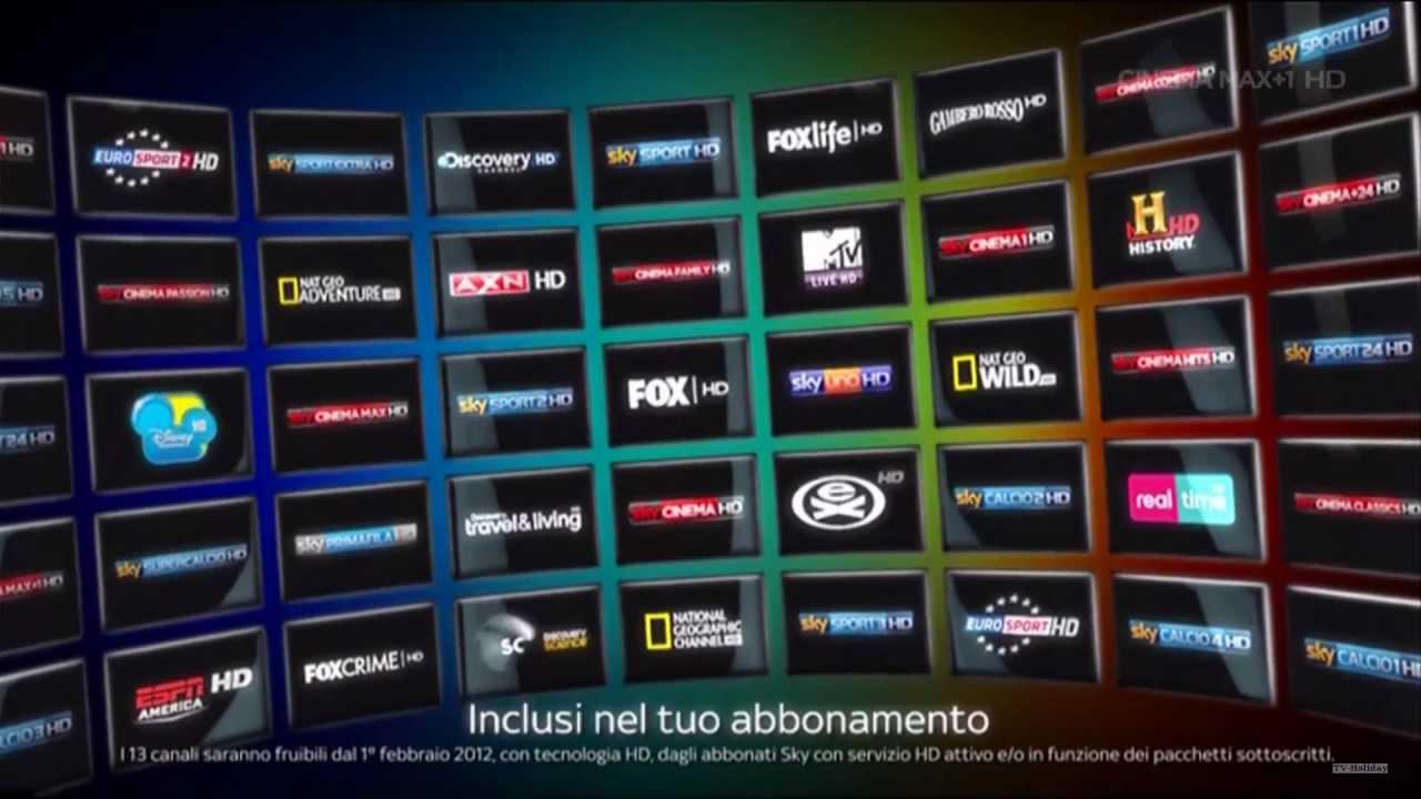 Free Sky Tv Channels