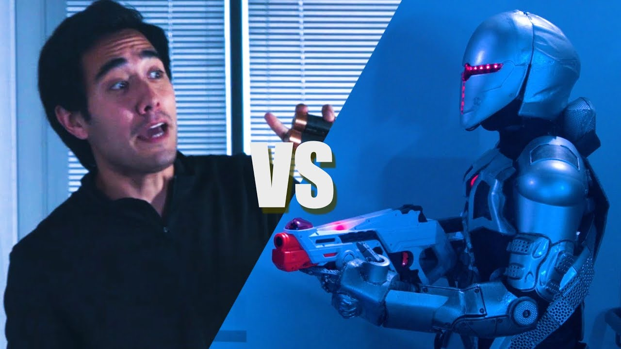 Zach King vs Evil Robots - (Rescue Mission Short Film)