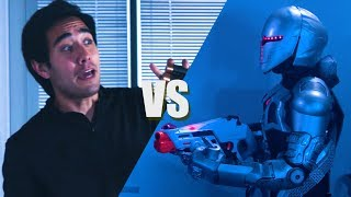 Zach King vs Evil Robots - (Rescue Mission Short Film)