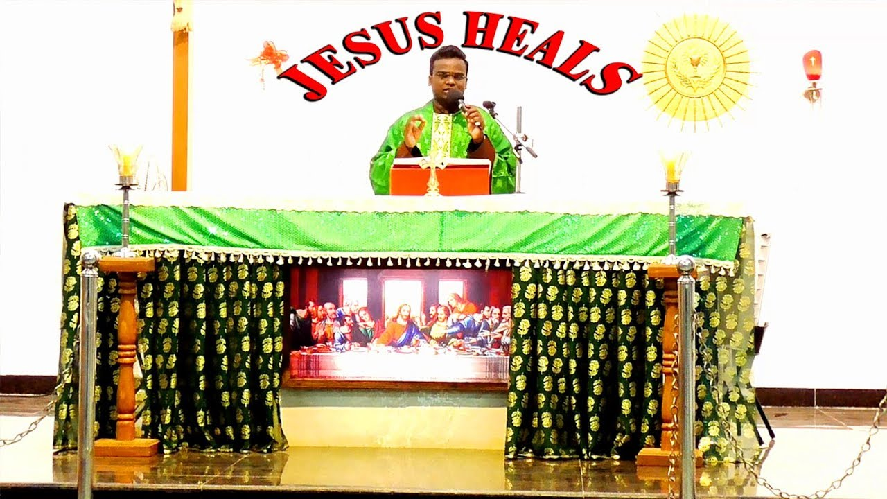 Tamil Catholic Sermon on Healing | frdosscap| Tamil Homily | அற்ப்புதம்