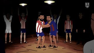 Atletico Madrid's Secret Fight Club | The Champions S2E4