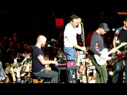 COLDPLAY - IN MY PLACE & FREE FALLING (COVER - TOM PETTY)  SAN DIEGO 10-8-2017