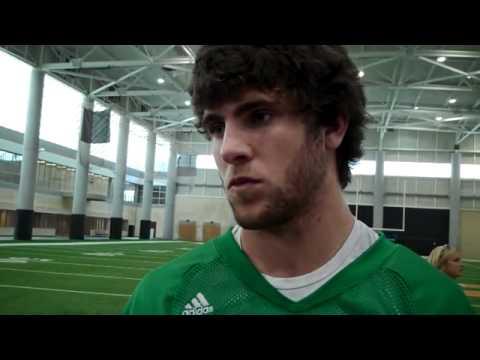 Tyler Bray Post-Practice Media Session (3/26/12)