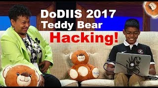 DoDIIS 2017- Teddy Bear Hacking with 11/ yo Cyber Prodigy Reuben Paul