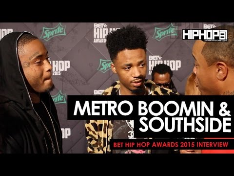 Metro Boomin & Southside Talk 'DS2' & 'What A Time To Be Alive', & More On The 2015 BET Green Carpet