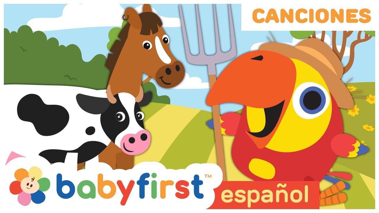 Canciones Dela Granja   Musica Infantil   Canciones Infantiles en Español   Baby First TV Español