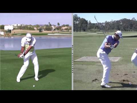 Hideki Matsuyama - Slow Motion Swing Analysis - YouTube