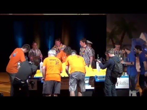 2016 - ESEO Angers vs Space crackers - Préparations - Coupe de France Robotique 2016