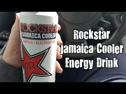 Rockstar Jamaica Cooler Energy Drink Review - CarBS