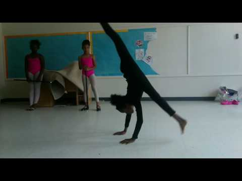 Because when we improv, we go hard.....#Twirlers Kenwood School of Ballet