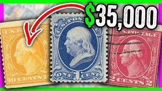 10 SUPER RARE STAMPS WORTH MONEY - EXTREMELY VALUABLE STAMPS