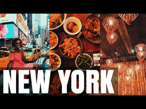 AMAZING NEW YORK TRAVEL VLOG | COME WITH ME