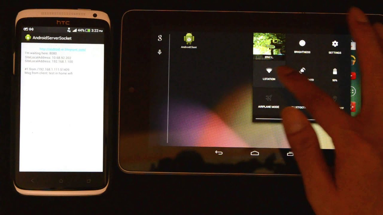 Android-er: Bi-directional communication between Client and