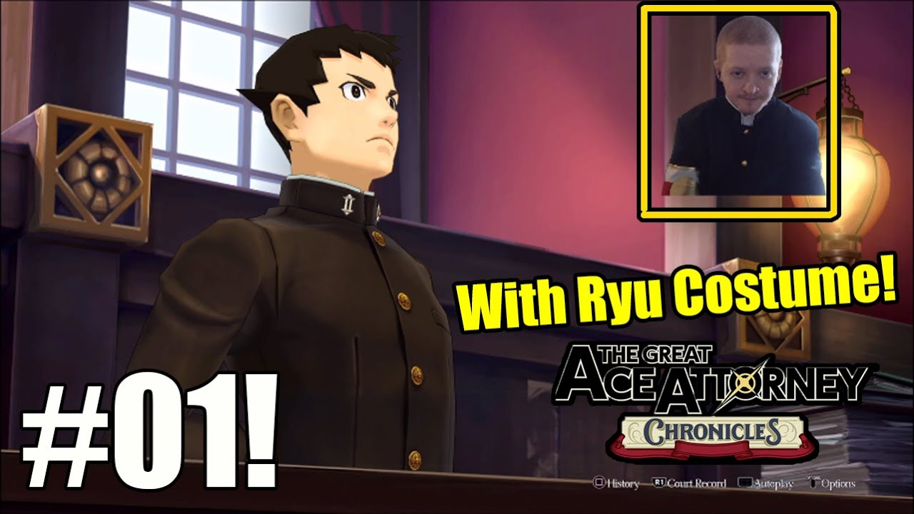 This Game Is So Much Fun, Ryu Is Framed For Murder-  The Great Ace Attorney Chronicles Part 1