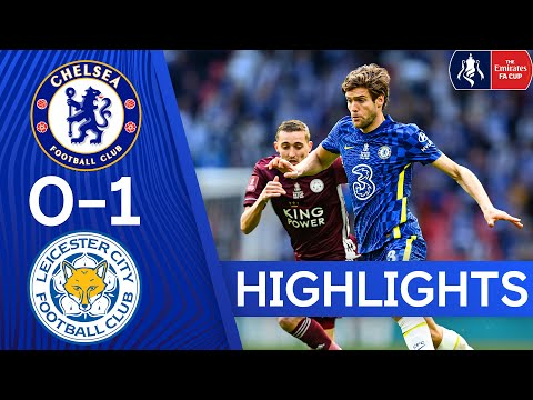 Chelsea 0-1 Leicester | FA Cup Final Highlights