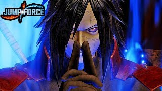 JUMP FORCE - NEW MADARA UCHIHA DLC Reveal & Gameplay Screenshots