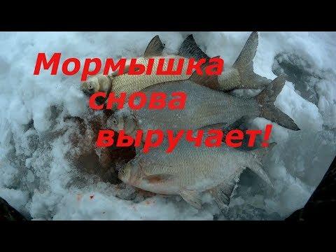 Ловля леща зимой. Мормышка снова выручает!