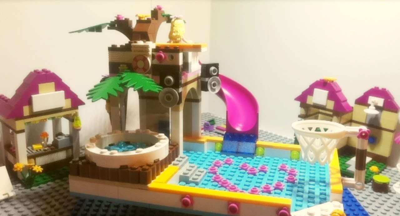 Lego Friends 41008 Heartlake City Pool Animated Building